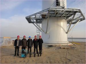 Renewable Energy Foundation Wind Power gaiola parafuso de fixação