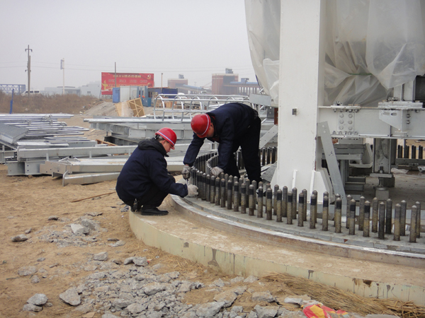 Wind Turbine Foundation Anchor Cage Project within 3 Years – Anyang Longteng Heat Treatment Material Co.,Ltd