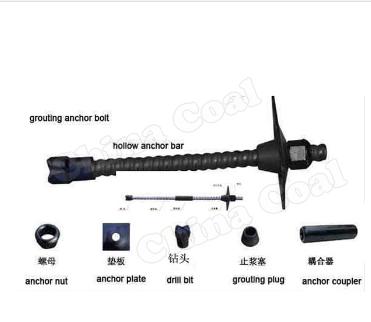 Underground Mining Tunnel High Strength Rock Anchor bolt