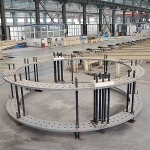 Wind Turbine Tower Foundation Anchor Bolt
