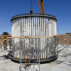 Turbina Eólica Torre Fundação Anchor Parafuso