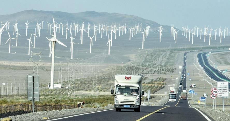 Northwest China turns to more green energy