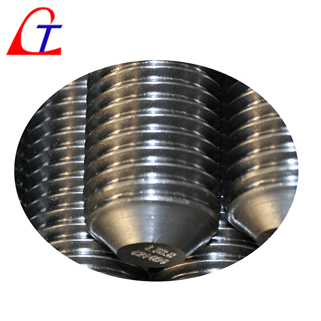 What standards do we follow when cold-rolling threads on steel round bar?