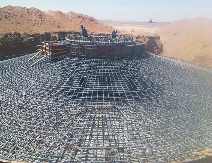 Onshore Wind Turbine Foundation Foot Steel Grade and equivalents