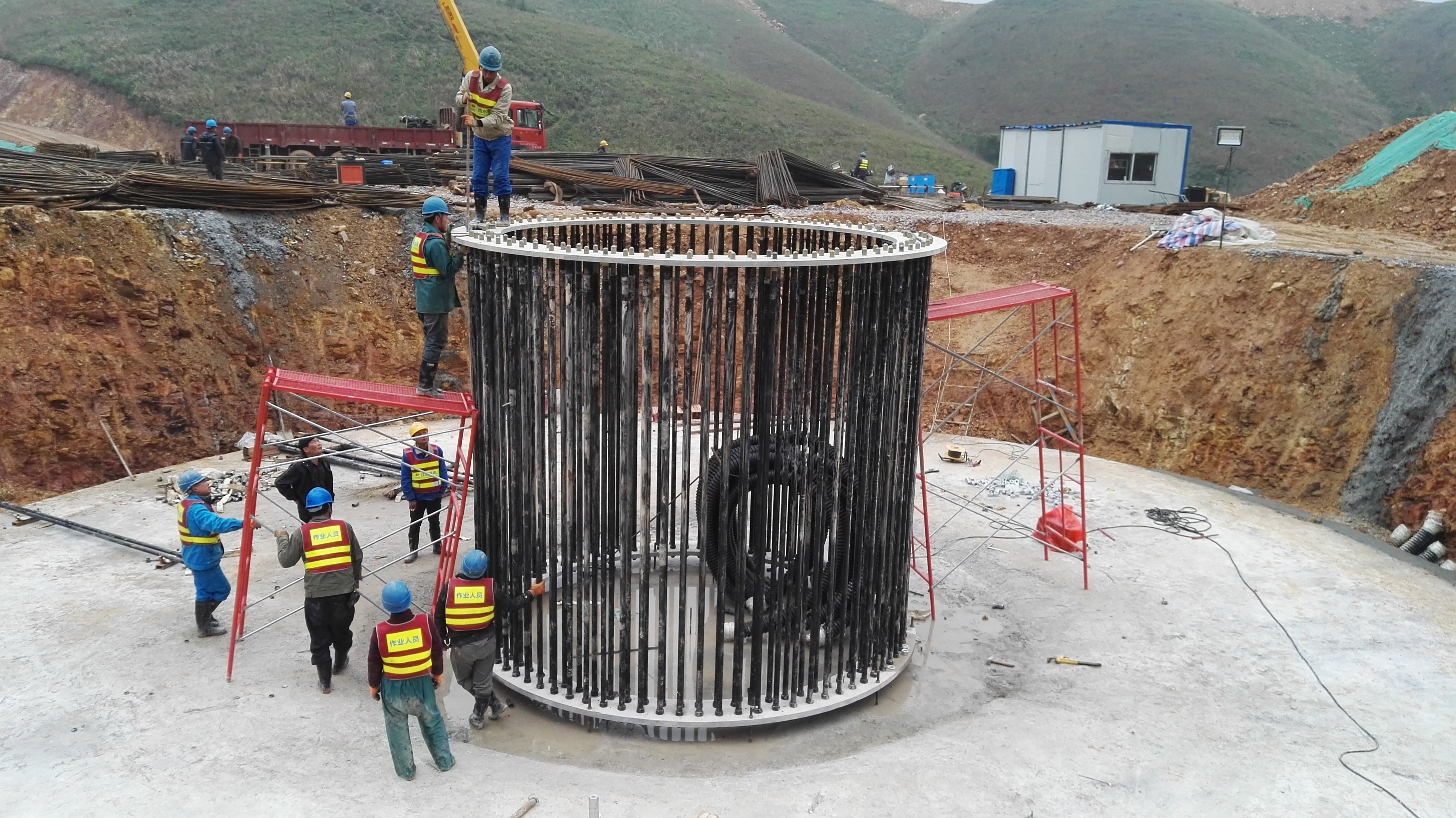 During Pedemic, JINHU Wind Farm Project was delayed but constructions resumed soon