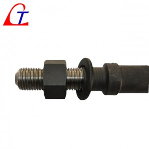 Stud Bolt, Anchor Bolt, grade 8.8,  prestress, precompression, pre-tensioning, post-tensioning structure for construction China manufacturer supplier for sell
