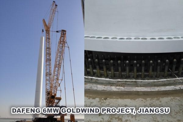DAFENG 6MW GOLDWIND PROJECT, JIANGSU